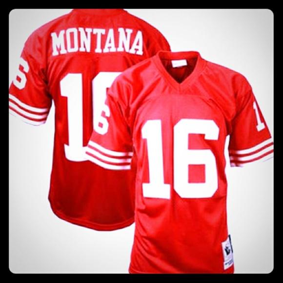 cb606b10 Mitchell & Ness Other | Joe Montana 1989 49ers Throwback Jersey ...